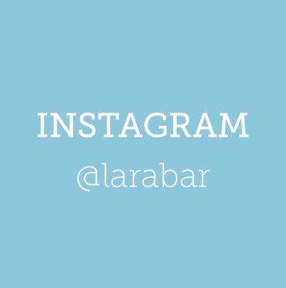 Instagram @larabar